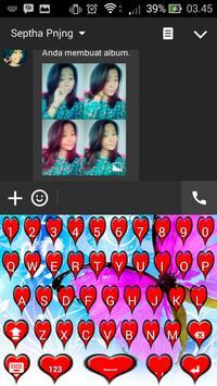 Icon Love keyboard apk screenshot
