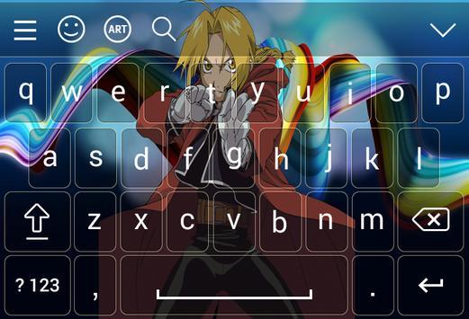 Keyboard for Edward Elric screenshot 5