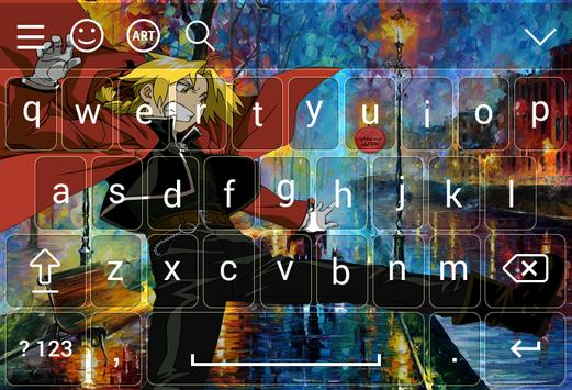 Keyboard for Edward Elric poster
