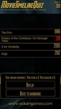 Movie Timeline Quiz apk screenshot