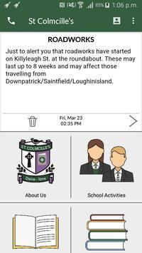 St Colmcille's High School Crossgar screenshot 1