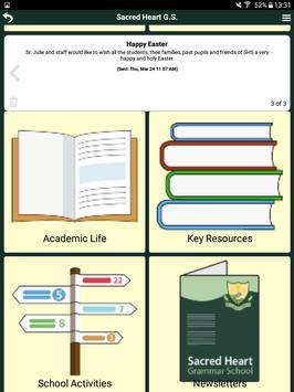 Sacred Heart Grammar Newry apk screenshot