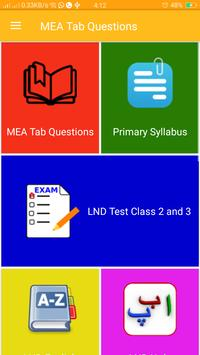 MEA Tab Questions screenshot 1