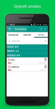 3000 Oxford Words - Malay screenshot 4