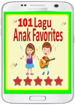 101 Lagu ANAk JaLAnan TerBAik poster