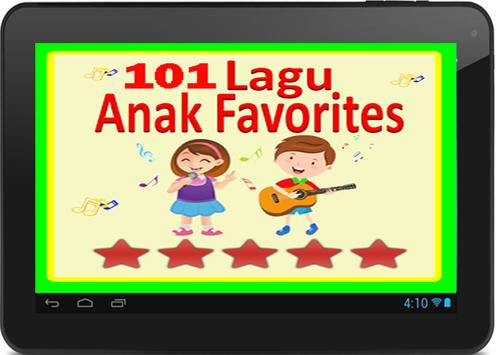 101 Lagu ANAk JaLAnan TerBAik screenshot 1