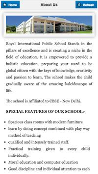 Royal International School screenshot 1