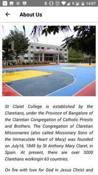 St. Claret P.U. College screenshot 1