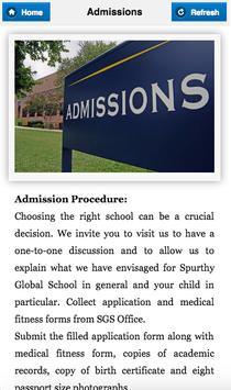 Spurthy Global School apk screenshot