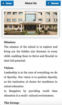 Spurthy Global School poster
