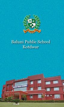 Baluni Public School Admin App poster