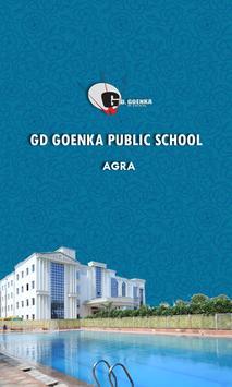 GD Goenka Agra poster