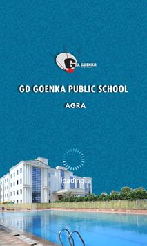 GD Goenka Agra Teacher App poster