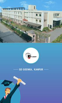 GD Goenka Kanpur poster
