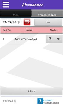 GD Goenka Kanpur Teacher App apk screenshot