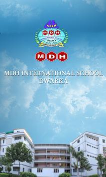 MDH International School poster