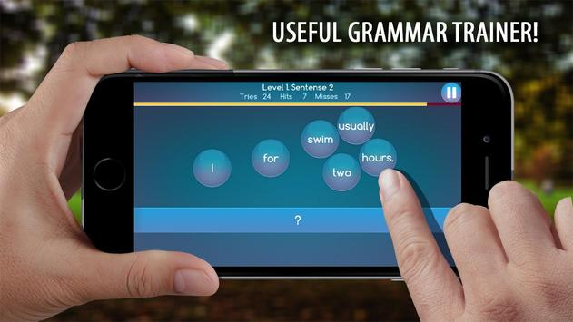 Make Sentences English Grammar poster
