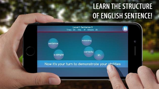 Make Sentences English Grammar apk screenshot