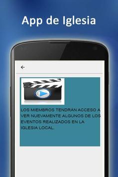 App de Iglesia screenshot 2