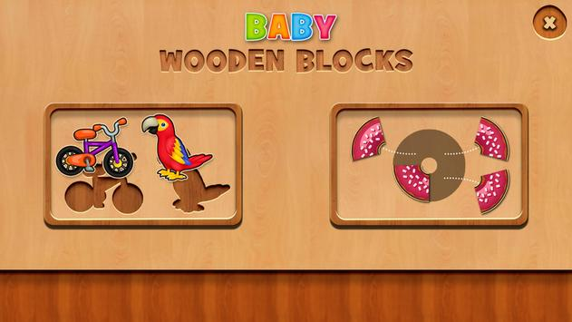 Baby Wooden Blocks apk screenshot