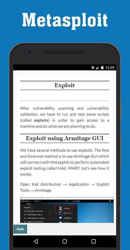Metasploit Tutorial for Android - APK Download