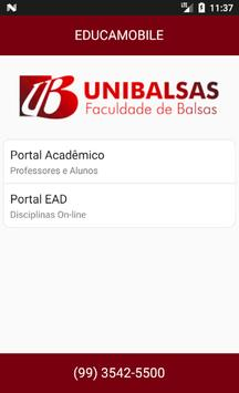 UNIBALSAS - EDUCAMOBILE poster