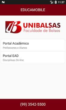 UNIBALSAS - EDUCAMOBILE screenshot 1