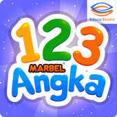 Marbel Belajar Angka + Suara icon