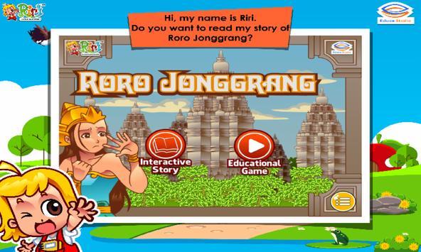 Roro Jonggrang poster