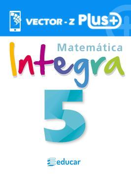VZ   Integra Matemática 5 poster