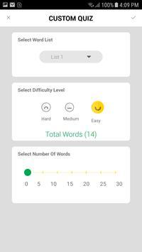 Simplified GRE Vocabulary apk screenshot