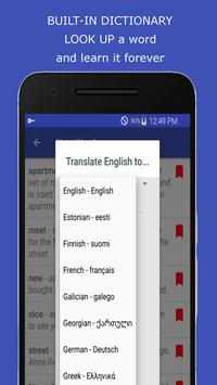 Learning English Speaking via VOA Learning English apk screenshot