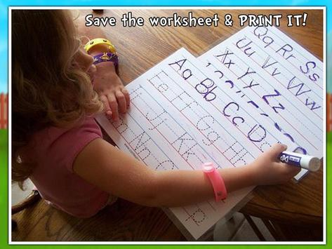handwriting abc learning android apps