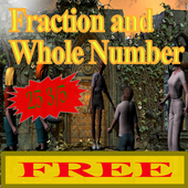 Fraction and Whole Number Mult icon