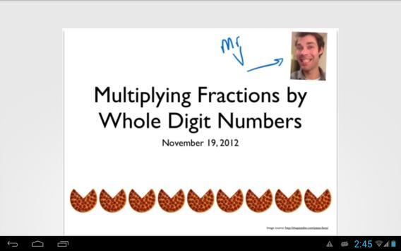 Fraction and Whole Number Mult apk screenshot