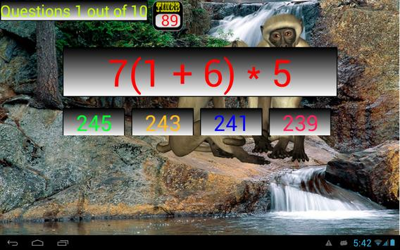 Order of Operations screenshot 3