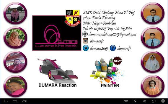 Dumara Reaction screenshot 1