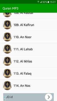 Quran MP3 Full Offline screenshot 3