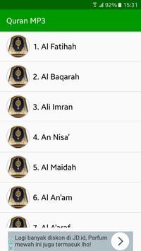 Quran MP3 Full Offline screenshot 1