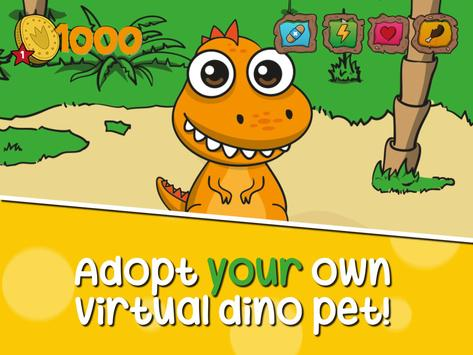 Virtual Pet: Dinosaur life poster