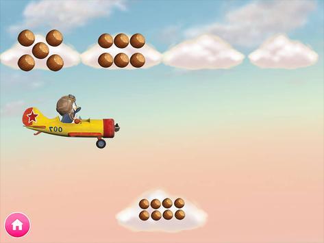 Masha e o Urso. Jogos Educativos imagem de tela 12