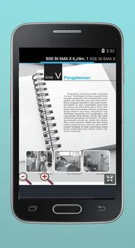 BSE Bahasa Indonesia SMA X screenshot 3