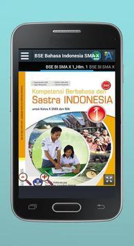 BSE Bahasa Indonesia SMA X screenshot 1