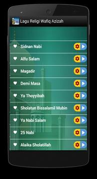 Lagu Religi Wafiq Azizah apk screenshot