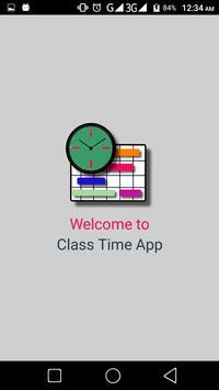 ClassTime poster