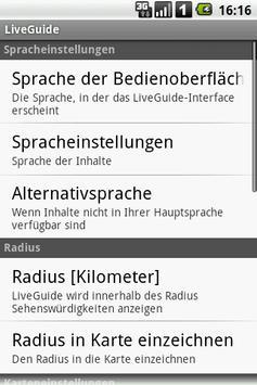 LiveGuide apk screenshot