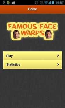 Famous Face Warps screenshot 1