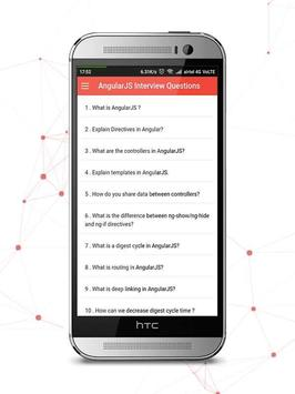 AngularJS Interview Questions and Answers apk screenshot