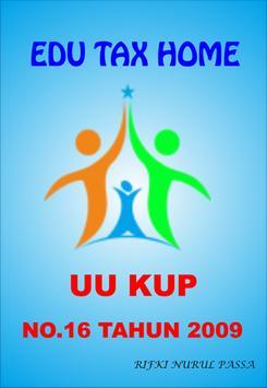 UU KUP No.16 Tahun 2009 poster