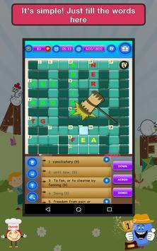 Words Crossword Puzzle : Free Word Game apk screenshot